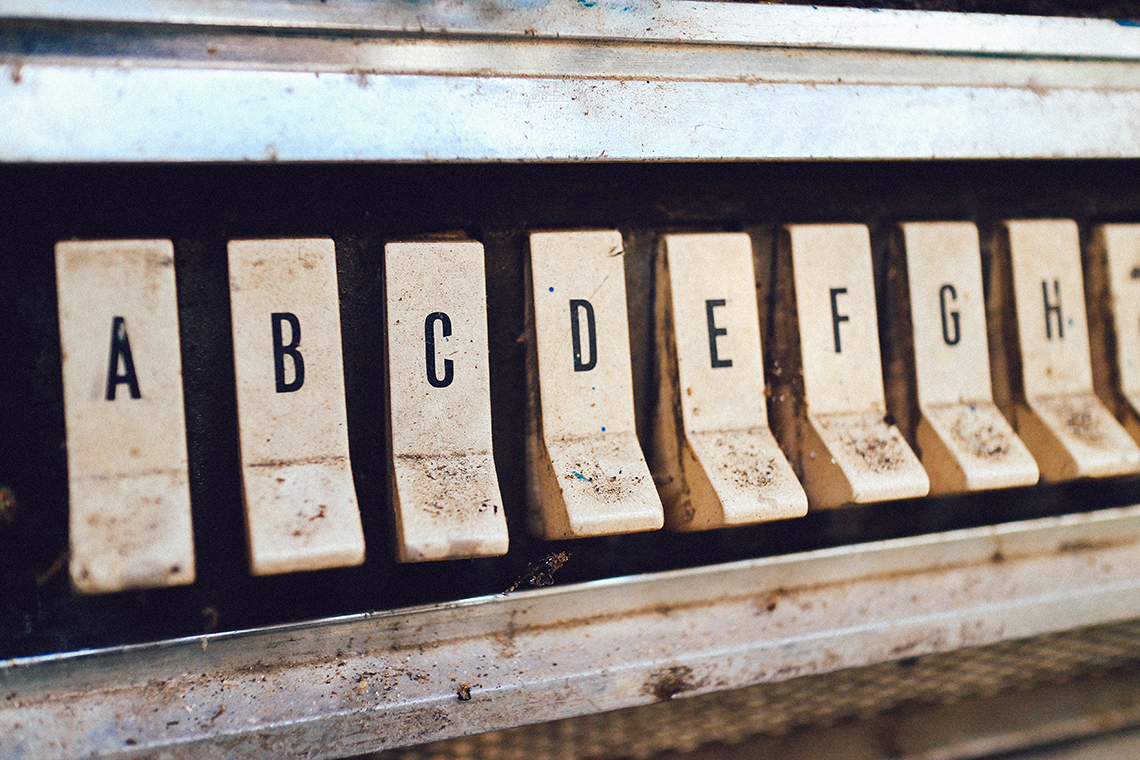 lettered switches