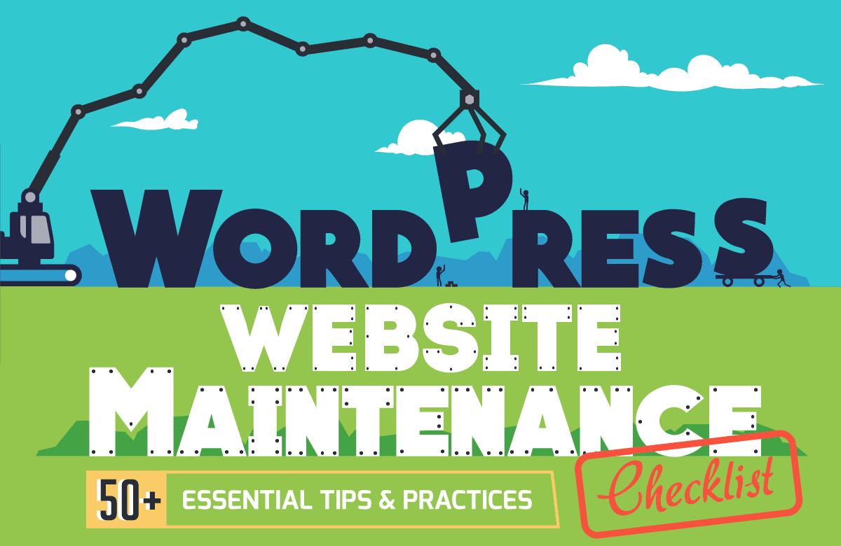 WordPress website maintenance checklist 50 essential tips and practices