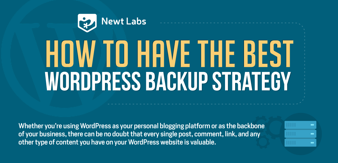 how to have the best wordpress backup strategy