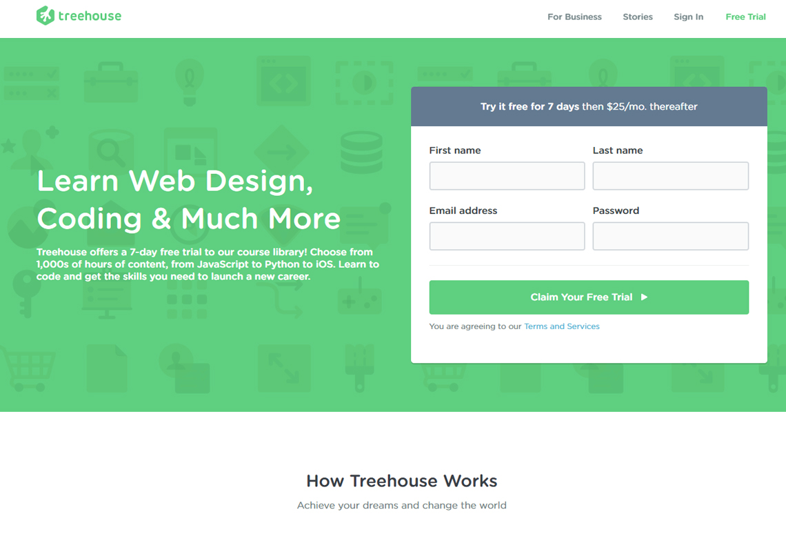 treehouse website