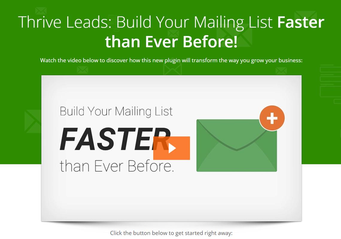 thrive leads plugin
