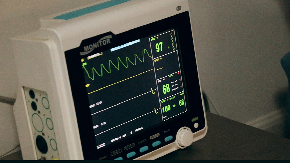 heartbeat monitoring machine