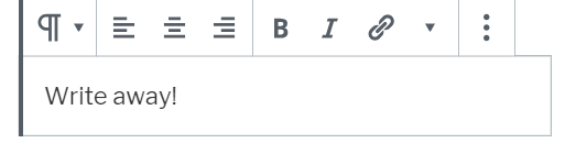 Align Bold and Italic