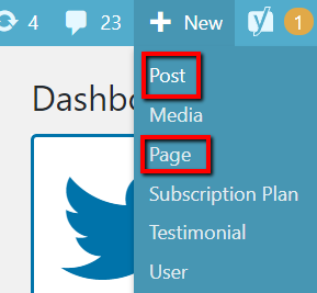 WP Dashboard Plus New