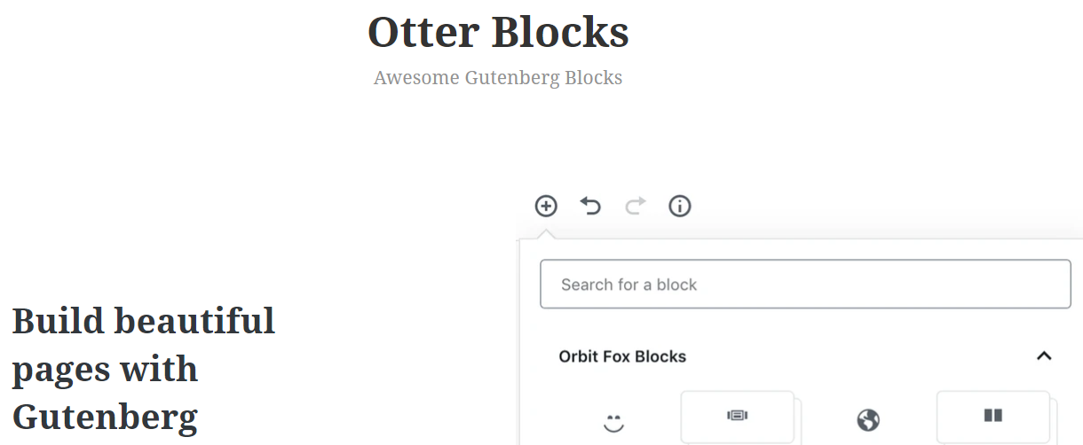Otter Blocks