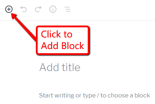 Click to Add Block