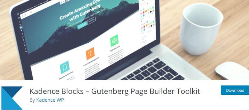 Kadence Blocks - Gutenberg Plugins for WordPress
