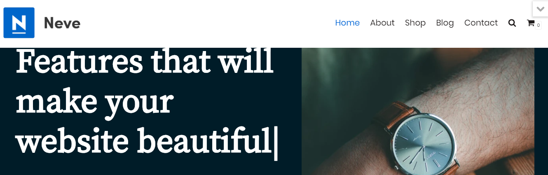 ThemeIsle's Neve WordPress theme