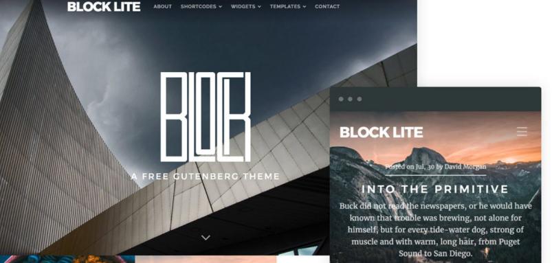 Block Lite by Organic Themes